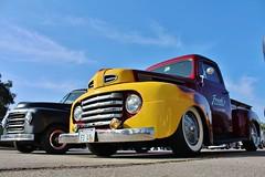 L.A. Roadsters Golden Anniversary Show & Swap Meet (USautos98) Tags: ford truck pickup f1 hotrod custom 1949 streetrod