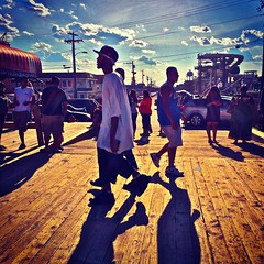 Seaside Heights, New Jersey: Stroll (Christian Montone) Tags: summer seaside newjersey boardwalk jerseyshore amusements montone seasideheights christianmontone instagram