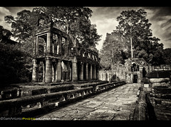 The Dewey Decimal System and Preah Khan Temple - Angkor Archaeological Park, Siem Reap Province, Cambodia (Sam Antonio Photography) Tags: road door old travel wild sculpture building tree brick history archaeology monument nature statue stone wall architecture forest wonder asian religious temple etching ancient ruins gate shrine asia cambodia southeastasia cambodian khmer buddha background buddhist famous religion culture buddhism landmark angkorwat historic unesco jungle restore siem vegetation tropic civilization restoration column khan southeast angkor hindu hinduism archeology preserve preservation preahkhan indochina artistry preah cambodiatravel earthasia canon5dmarkii samantoniophotography