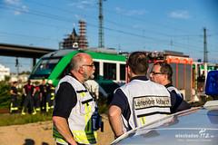 Zugunfall HBf Wiesbaden 15.07.14 (Wiesbaden112.de) Tags: wiesbaden zug hauptbahnhof feuerwehr rettungsdienst lebensgefahr unfall überfahren bundespolizei