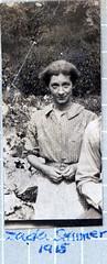 Zada Wells Skinner 1915 (snapscot) Tags: family blackandwhite bw pennsylvania wells genealogy oldphoto oldphotographs bandw oldphotograph oldphotos greatgrandmother zada eriepennsylvania zadaskinner zadawells