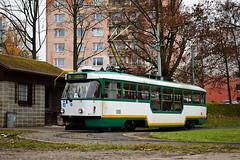 Tatra T3R.PLF #35 DPML Liberec (3x105Na) Tags: tatra t3rplf 35 dpml liberec czechy tschechien strassenbahn strasenbahn tramwaj tram tramvaj