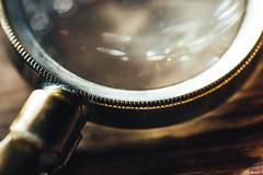 Magnifying glass/ loupe (WillemijnB) Tags: macro mondays mysterious magnifyingglass loep loupe detective sherlockholmes