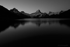 silence in the morning (benno.dierauer) Tags: berneroberland schweiz switzerland first bachalpsee berge mountain