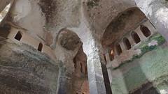 DSCF0038 glise monolithe d'Aubeterre-sur-Dronne (Charente) (Thomas The Baguette) Tags: aubeterresurdronne charente france monolith cave church tympanum glise glisenotredame saintjacques caminodesantiago sexyguy chateau cloister minimes mithra mithras cult