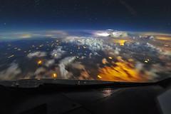 Into the Storm (skypointer2000) Tags: aviation aerial night thunderstorm pilotsview canon canoneos7dmkll samyang24mmf14 samyang