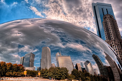 They Don't Call It Cloud Gate For Nothing.jpg (Milosh Kosanovich) Tags: dxoopticspro11 hdr photomatixpro chicagophotoart precisiondigitalphotography chicago bean chicagophotographicart mickchgo millenniumpark chicagophotographicartscom cloudgate
