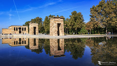 Templo de Debod. (Franz - Jimenez) Tags: temple templo debod madrid construction building reflection canon eos600d angular spain