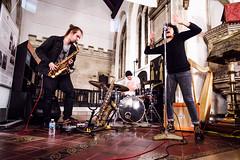 (noiseburst) Tags: runloganrun band live music gig bristol october 2016 fuji fujifilm xpro2 samyang 12mm ncs cs f20 f2 samyangcsc12mmf20ncscs church venue concert sax saxophone drums stjohnonthewall