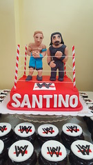 WWF cake (DC Cafe Roxas) Tags: wwf world wrestling federation john cena roman reigns fondant birthday cake dc cafe roxas city divine cakes bakeshop iloilo