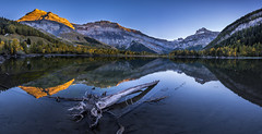 Not Canada.. It's Switzerland! (PhiiiiiiiL) Tags: conthey valais schweiz ch lac de derborence lacdederborence morning light sunrise switzerland panorama landscape landschaft mountain mountainlake visipix