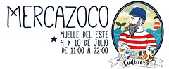 julio-cudillero-zona-del-puerto-cartel (De tu Sueo y Letra) Tags: mercazoco mercadillo musicaendirecto mascotas mercado ludoteca foodtrucks gastronoma cudillero