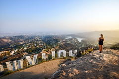 (Herbey Morales Travel & Lifestyle Book) Tags: california hollywood landscape sign us travel nikon d800 sunset