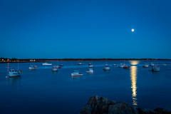 Inner Harbor (Firoz Ansari) Tags: maine acadia night harbor sea seashore boat
