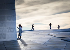(Svein Skjåk Nordrum) Tags: opera oslooperahouse people architecture surface sky explore