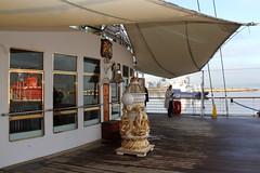 THE ROYAL YACHT BRITANNIA (Andrew Mansfield - Sheffield UK) Tags: royalyacht royalyachtbritannia brittannia ship boat oceanterminal portofleith edinburgh scotland leith yacht