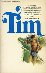 Novel-Tim-by-Colleen-McCullough (Count_Strad) Tags: mystery softcover novel books