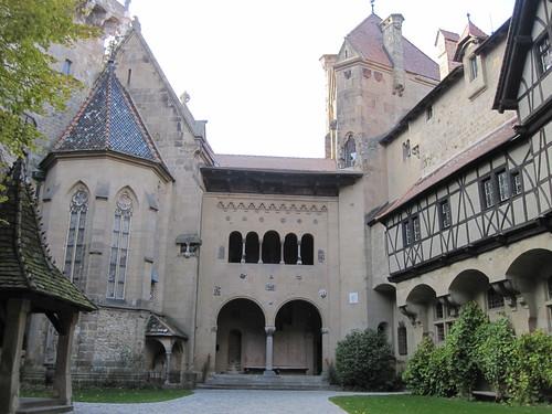 Innenhof Burg Kreuzenstein 1