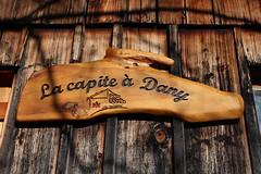 la capite  Dany (bulbocode909) Tags: valais suisse cabanes capites panneaux critures bois