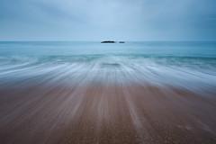 Bull Rock (Jonny_Royale) Tags: durdle door jurassiccoast dorset movement england south west lulworth cove waves lines stack minimalistic tones canonflickraward leegradfilters