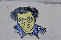 K.bal_5492 rue Jenner Paris 13 (meuh1246) Tags: streetart paris paris13 kbal ruejenner coluche mosaque