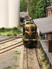 2016_11_12_Valkenveld_086_1 (dmq images) Tags: modelleisenbahn model railway railroad scale schaal modelspoor h0 187 layout valkenveld inglenook canadian national cn bachmann gp9 1701