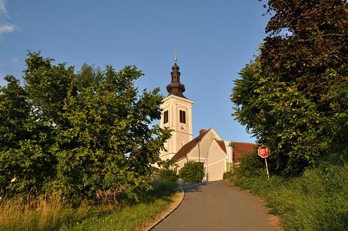 Blick zur Kirche Frauenberg