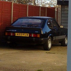(uk_senator) Tags: 1984 ford capri 20s mk3 black