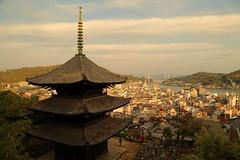 Pagoda at afternoon (Teruhide Tomori) Tags:       pagoda  onomichi hiroshima japan town teineitemple  landscape