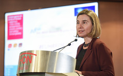 Participation of Federica Mogherini in the 18th EU-NGO Human Rights Forum (European External Action Service - EEAS) Tags: mogherini eu humanrights forum ngo