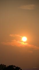 Georgia Sunset by sheldn (2sheldn) Tags: georgia sunset sheldn orange sun sky canon t5i cloud