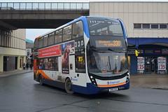 Stagecoach AD Enviro 400MMC 10586 SN16OUB - Stockport (dwb transport photos) Tags: stagecoach alexander dennis enviro 400mmc bus decker 10586 sn16oub stockport