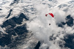 Freedom (Mike Y. Gyver) Tags: afsvrzoomnikkor70300mmf4556gifed nikon d90 myg 2015 alpes france parapente freeflight outdoor sport free fly parachute paragliding mountain ice