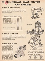 Skil jigsaws, saws routers and sanders (Runabout63) Tags: skil jigsaw saw router sander mcphersons