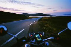 8000 km (Ivan.Pavlukhin) Tags: 35mm film analog nikon f100 50mm f14 nikkor godakgold200 norway road roadtrip sea mountains travel sunset