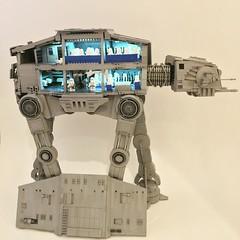 Lego Custom ATA w/lighted interior #legoatat #starwars #atat #starwarslego #lego #hoth #echobase #endor (brickplumber) Tags: instagramapp square squareformat iphoneography uploaded:by=instagram juno