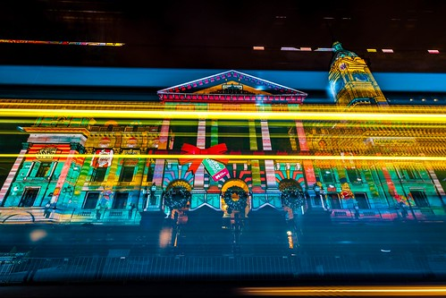 Melbourne Town Hall Xmas Projections-6
