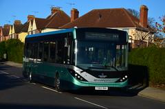 Ipswich Buses (d) 500 YX65RKK Shakespeare Road 251116 (7) (suffolkexplorer) Tags: ipswich buses e200mmc demonstrator norfolk green rides again