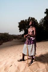 Himba Man 4047 (Ursula in Aus) Tags: africa namibia himba portrait offcameraflash