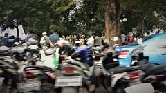 Parking Curbside (michael.veltman) Tags: jakarta parking curbside mopeds