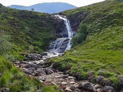 Eas a Bhradain (RIch-ART In PIXELS) Tags: easabhradain isleofskye scotland luib lochainort leicadlux6 dlux6 leica landscape waterfall falls grassland unitedkingdom schotland water mountains