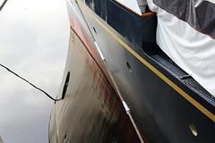 THE ROYAL YACHT BRITANNIA (Andrew Mansfield - Sheffield UK) Tags: royalyacht royalyachtbritannia britannia ship boat oceanterminal portofleith edinburgh scotland leith yacht reflection