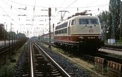 103 184  Hegyeshalom  03.05.11 (w. + h. brutzer) Tags: hegyeshalom eisenbahn eisenbahnen train trains elok eloks 103 e03 railway deutschland germany lokomotive locomotive zug db webru analog nikon