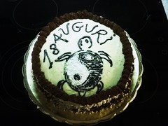 18 ...Yin&yang (Rossella Di Gioia) Tags: torta 18 compleanno crema pasticceria