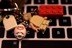 BB-8 the Droid and Dobby the House Elf (Manzoorul Hassan) Tags: dxdslr locationtechranch macrolens nikkor2485mmf284d nikond80 hdr public 2016 november 29th 161129 tuesday november29th dsc7236fused bb8 droid dobby houseelf
