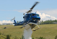 C-GWWL drop (John W Olafson) Tags: chopper bell helicopter vernon salmonarm bcfs b212 fastfin cgwwl ascenthelicopters