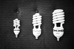 Bulbs (kamil_z) Tags: light bw white black bulb studio daylight 250w 150w 400w