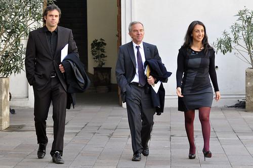 Ministra Cecilia Pérez junto a Fernando Gonzalez - a photo on Flickriver
