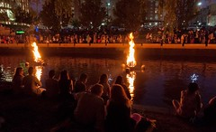 Quite moments at WaterFire