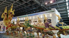 Churning of the Ocean of Milk (sofimi) Tags: statue thailand vishnu bangkok suvarnabhumiairport churningoftheoceanofmilk samudramanthan